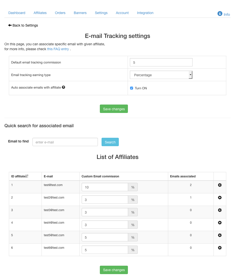 New feature: tracking by client's e-mail - Affiliatly Blog