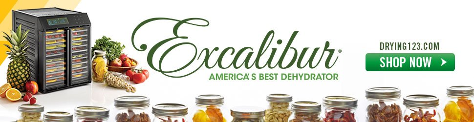 how to dehydrate excalibur dehydrator