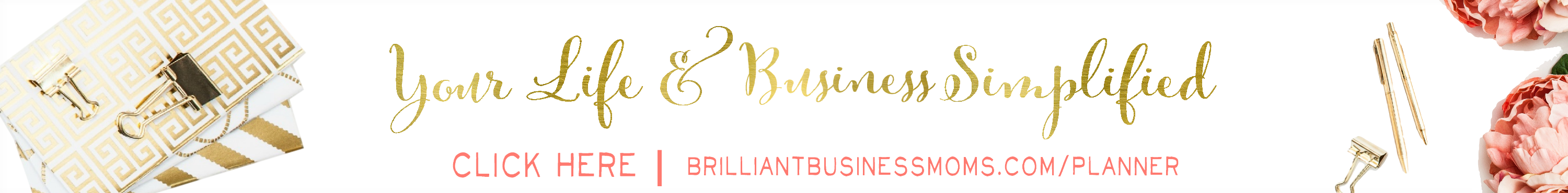 Business Planner for Moms and Mom Bloggers