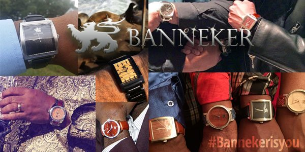 Shop Banneker Watches Now