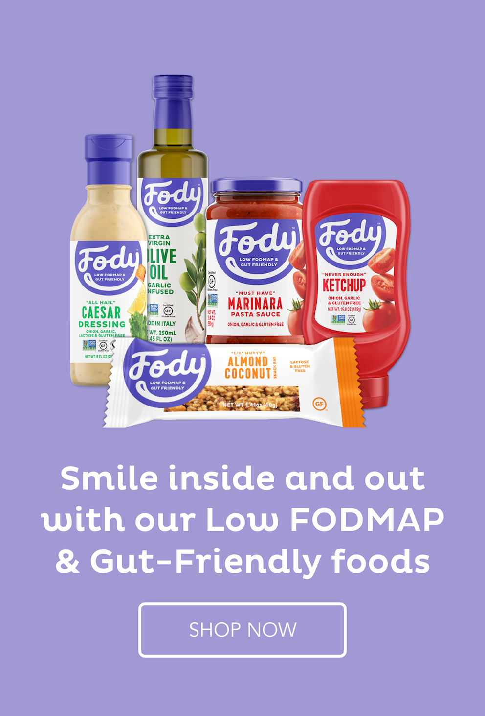 Fody Foods low-FODMAP products