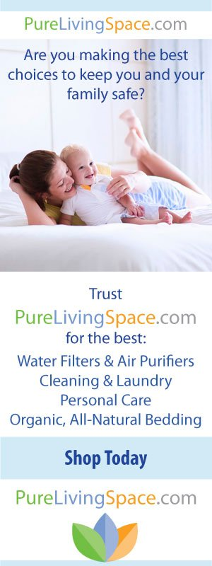 healthy home -- banner from Pure Living Space