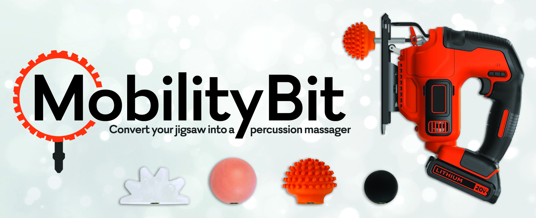 Mobility Bit - Convert Your Jigsaw Into A Percussion Massager