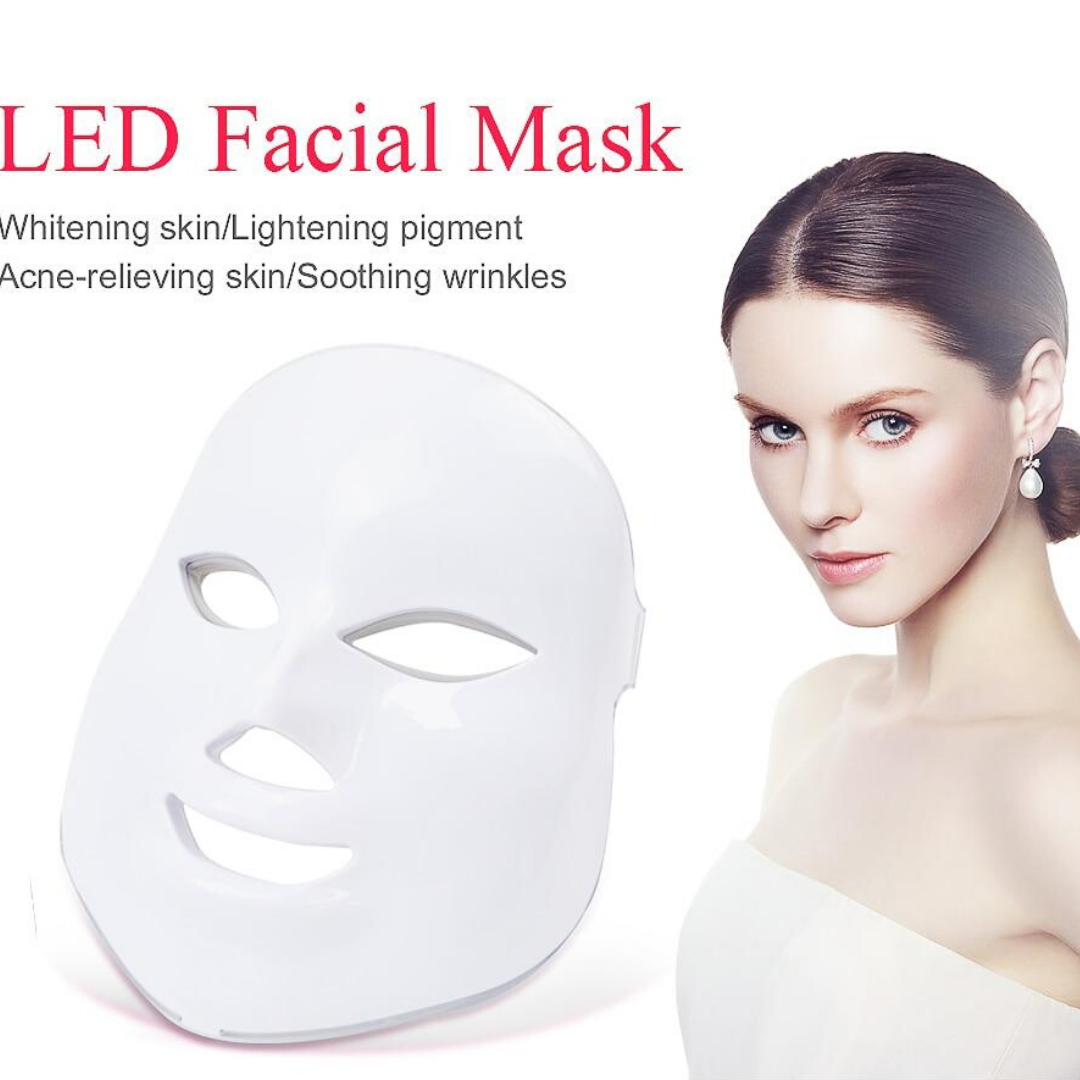 7 Colors Light LED Facial Mask