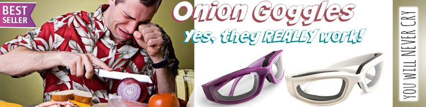 Cook&Glow onion goggles