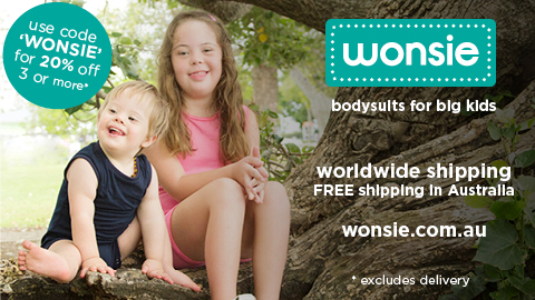 Wonsie - bodysuits for special needs