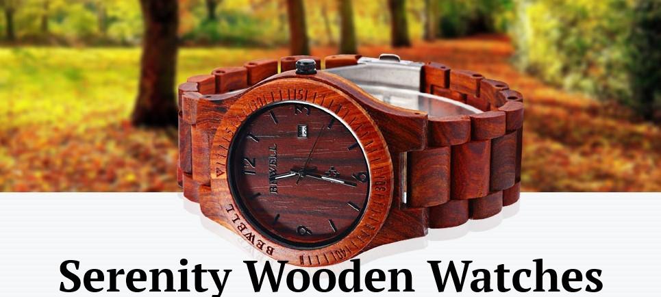 Serenity Wooden Watches